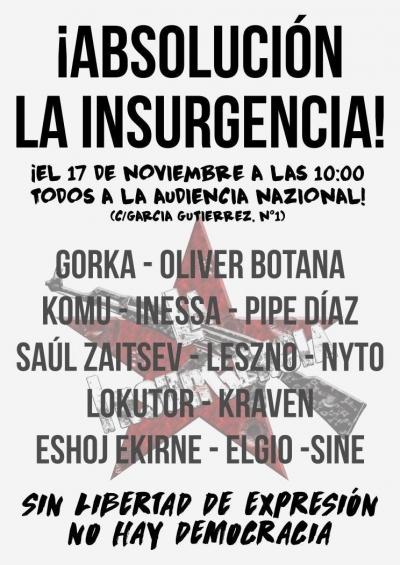 ¡Absolución La insurgencia!