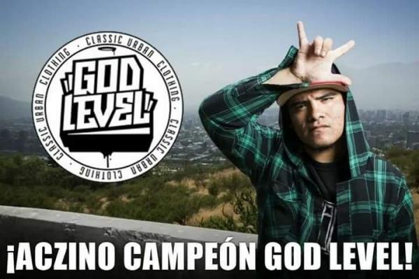Aczino (Mexico) gana en la God Level 2017 en Chile