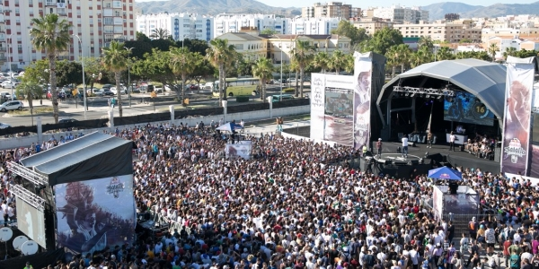 Público de la Batalla de los Gallos 2017 en Málaga