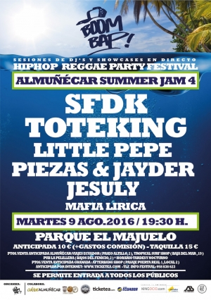 Boom Bap! Summer Jam 4 en Almuñecar