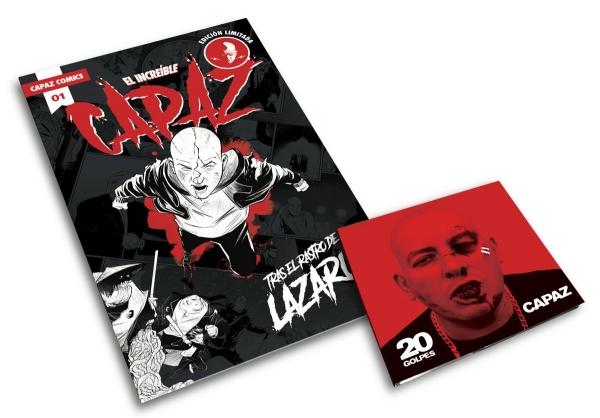 Capaz 20 Golpes - Formato CD con Comic