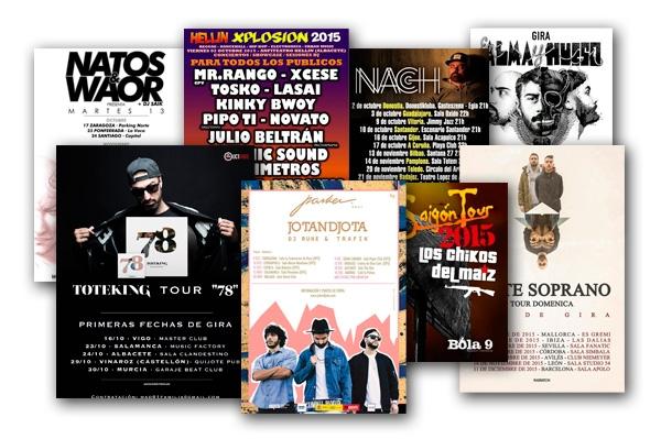 Agenda de conciertos Hip Hop
