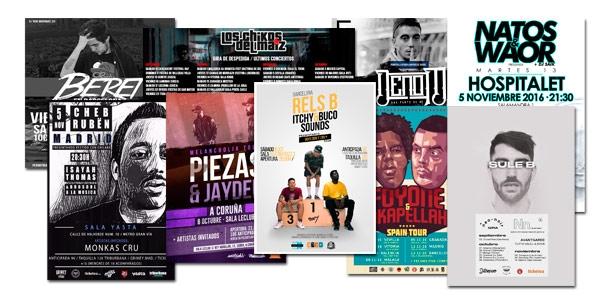 Conciertos Hip Hop Otoño 2016