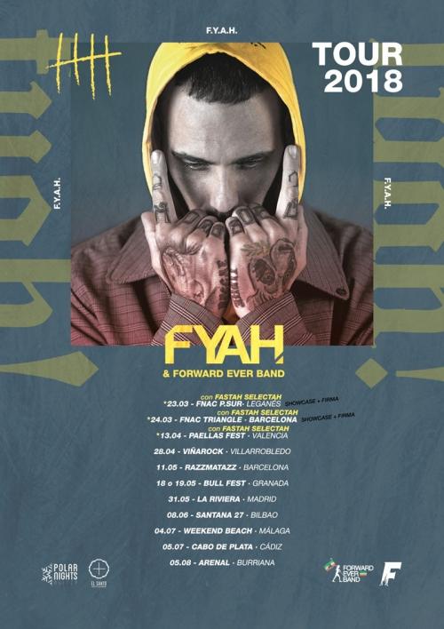 Fyahbwoy - FYAH TOUR 2018