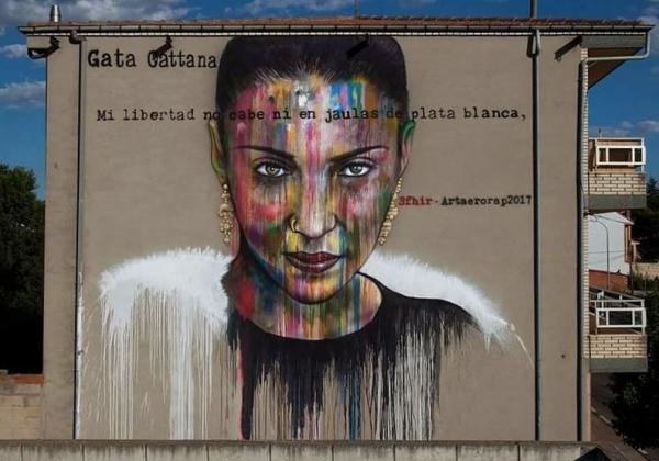 Gata Cattana Graffiti Sfhir
