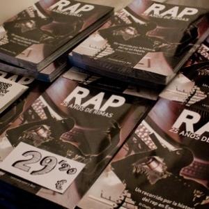 El libro Rap - 25 años de rimas