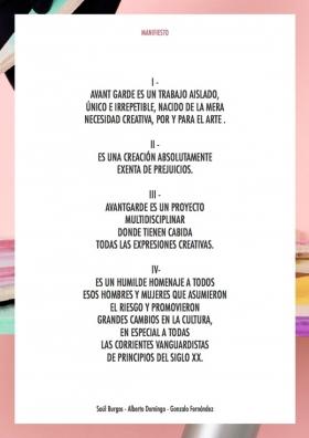 Manifiesto Avant Garde de Sule B, Tutto Vale y A. Rock