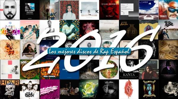Los mejores discos de Rap español 2016