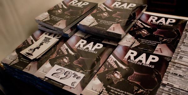 El Libro Rap 25 Años De Rimas