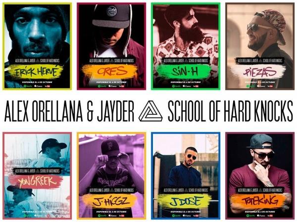 Alex Orellana & Jayder - School of hard knocks (Colaboraciones)