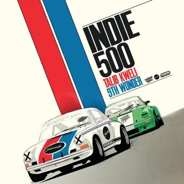 Talib Kweli y 9th Wonder - Indie 500 (Ficha del disco)