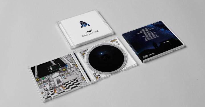 Chukky - Espacial (Formato CD)