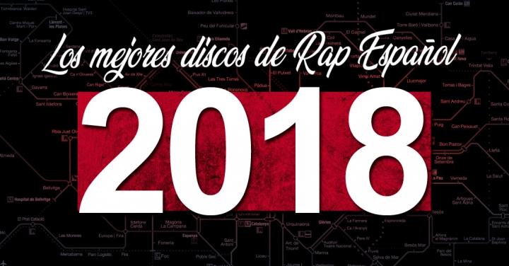 Los mejores álbumes de Hip Hop Español en 2018