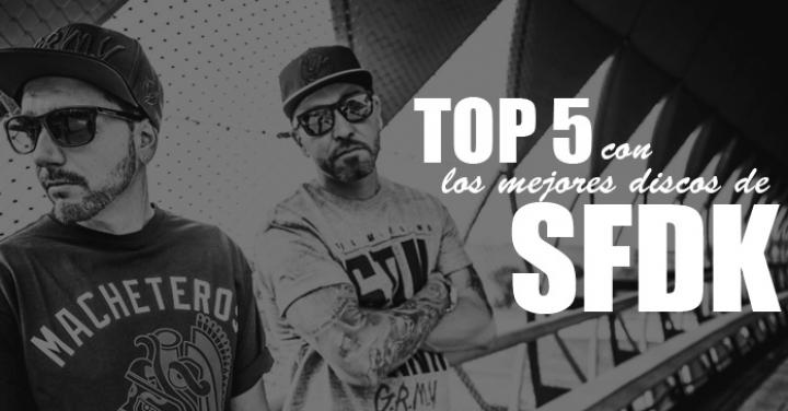 Top 5 con los mejores discos de SFDK