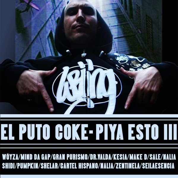 Descarga la maqueta de Hip hop de El Puto Coke: Piya esto III