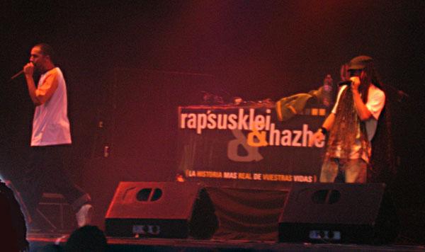 Rapsusklei y Hazhe se separan